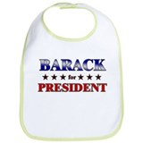 BARACK for president Bib