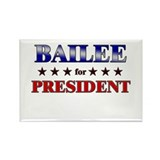 BAILEE for president Rectangle Magnet (10 pack)