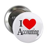 "I Love Accounting 2.25"" Button"