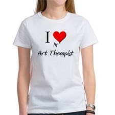 I Love My Art Therapist Tee