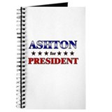 ASHTON for president Journal