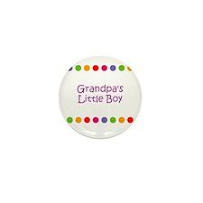 Grandpa's Little Boy Mini Button (10 pack)