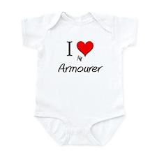 I Love My Armourer Infant Bodysuit