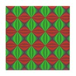 Happy Holidays Fractal Tile Coaster