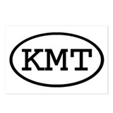 KMT Oval Postcards (Package of 8)