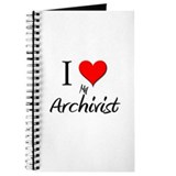 I Love My Archivist Journal