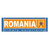 Romanian Bumper Bumper Sticker
