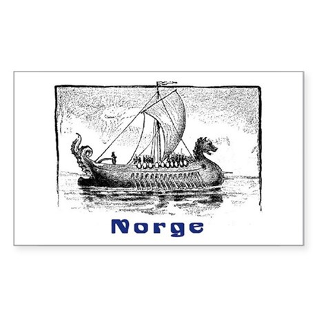 NORGE Rectangle Sticker