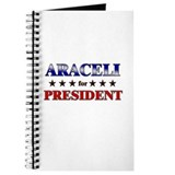 ARACELI for president Journal