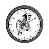 Ride. Mountain Biker Wall Clock