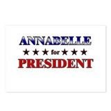 ANNABELLE for president Postcards (Package of 8)