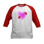 Ladybug Love Kids Baseball Jersey