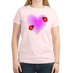 Ladybug Love Women's Light T-Shirt