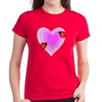 Ladybug Love Women's Dark T-Shirt