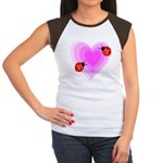 Ladybug Love Women's Cap Sleeve T-Shirt