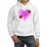 Ladybug Love Hooded Sweatshirt