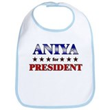 ANIYA for president Bib