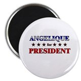 ANGELIQUE for president Magnet