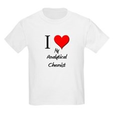 I Love My Analytical Chemist T-Shirt