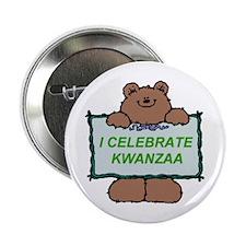 "I Celebrate Kwanzaa 2.25"" Button"