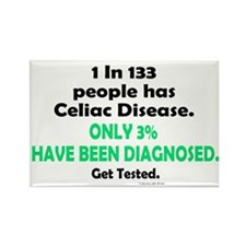 1 In 133 Has Celiac Disease 1.3 Rectangle Magnet