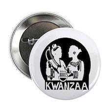 """Kwanzaa 9 2.25"""" Button"""