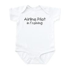 Airline Pilot in Training Onesie