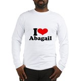 Cute Abagail Long Sleeve T-Shirt