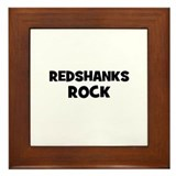 Redshanks Rock Framed Tile