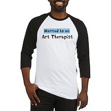 Married to: Art Therapist Baseball Jersey