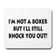 Anesthesia Knock Out Mousepad