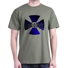 Radiology in Blue T-Shirt