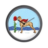 Great Dane Brindle UC Mail Wall Clock