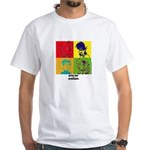 SURF & SPENCER POP ART White T-Shirt