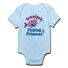Grandpa's Fishing Princess Onesie