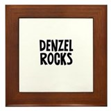 Denzel Rocks Framed Tile