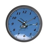 Chopper-ette Wall Clock