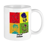 SURF RAT & SPENCER POP ART Mug