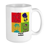 SURF RAT & SPENCER POP ART Large Mug