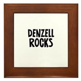 Denzell Rocks Framed Tile