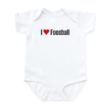 I love foosball Infant Bodysuit