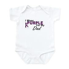 I Wear Purple For My Dad 3 (PC) Onesie