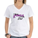 I Wear Purple For My Dad 3 (PC) Shirt
