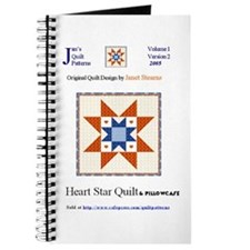 Quilt Patterns BLANK writing Journal