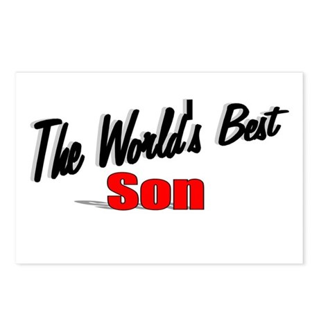 """The World's Best Son"" Postcards (Package of 8)"