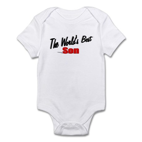 """The World's Best Son"" Infant Bodysuit"