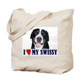 Cute Swissie Tote Bag