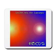Cute Focus Mousepad