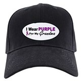 I Wear Purple For My Grandma 3 (PC) Baseball Hat