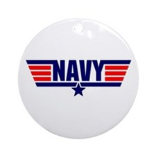 NAVY Ornament (Round)